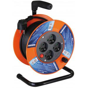 Prodlužovací kabel na bubnu - 4 zásuvky 15m