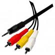 Kabel 3,5MM/M - 3RCA/M 1,5m