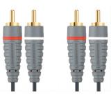 Bandridge audio kabel stereo, 1m, BAL4201