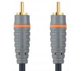 Bandridge digitální koaxiální audio kabel, 1m, BAL4801
