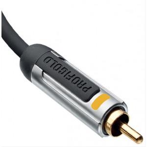 Profigold digitální koaxiální audio kabel, 1m, PROA4801
