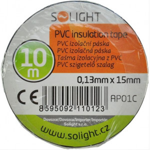 Izolační páska, 15mm x 0,13mm x 10m, černá