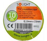 Izolační páska, 15mm x 0,13mm x 10m, žluto
