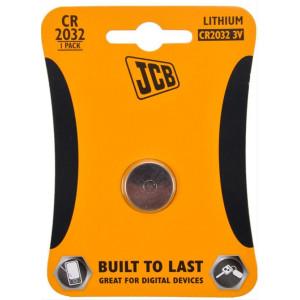 JCB knoflíková lithiová baterie CR2032, blistr 1 ks
