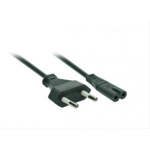 Napájecí kabel 2-pin, 230V, 2,5A, 2m