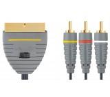 Bandridge video kabel stereo, 2m, BVL5602