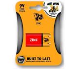 JCB zinko-chloridová baterie 6F22/9V, blistr 1 ks