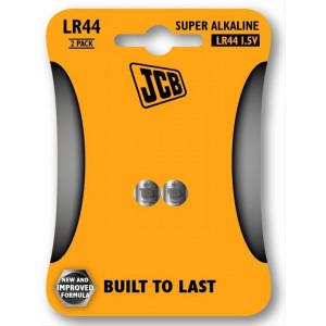 JCB alkalická baterie LR44, blistr 2 ks