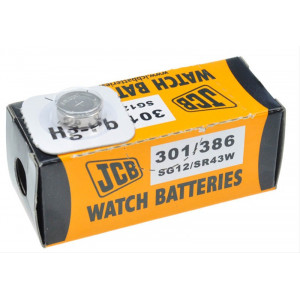 JCB hodinkové baterie typ 301/386 1ks