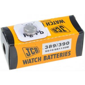 JCB hodinkové baterie typ 389/390, balení 10ks