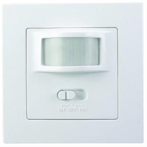 PIR senzor interiérový, do krabičky od vypínačů, bílý