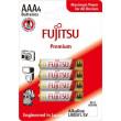 Fujitsu Premium Power alkalická baterie LR03/AAA, blistr 4ks