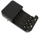nabíječka, AC 230V, max. 180mA, 2 kanály, AA/AAA