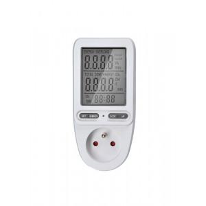 digitální měřič spotřeby el. energie, velký displej