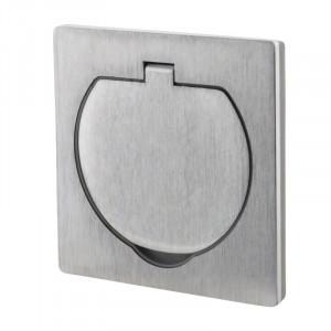 Vestavná podlahová zásuvka, IP55
