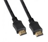 HDMI kabel s Ethernetem, HDMI 2.0 A konektor - HDMI 2.0 A konektor, blistr, 1,5m