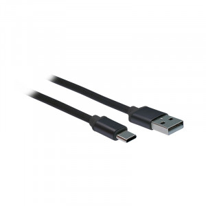 USB-C kabel, USB 2.0 A konektor - USB-C 3.1 konektor, blistr, 2m