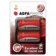 AgfaPhoto zinková baterie R20/D, blistr 2ks