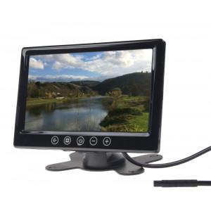 """LCD monitor 9"""" černý do opěrky nebo palubní desku"""