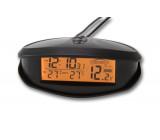 Digitální vnitřní/venkovní teploměr, hodiny a voltmetr