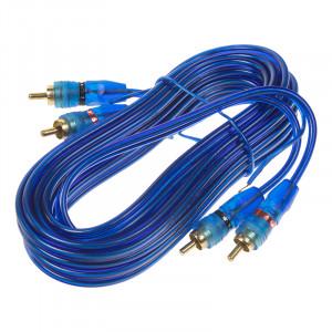 RCA audio kabel BLUE BASIC line, 3m