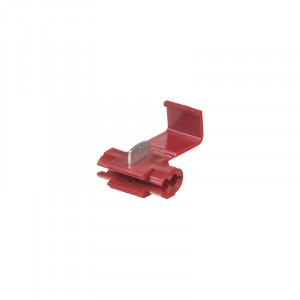 Kabelová odbočka červená, 100 ks