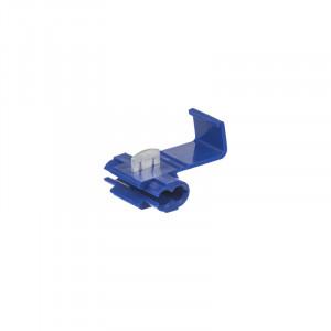 Kabelová odbočka modrá, 100 ks