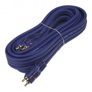 BLUE MID CINCH kabel 5m