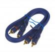 BLUE MID CINCH kabel 0,5m