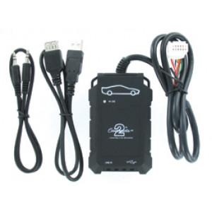 Connects2 - ovládání USB zařízení OEM rádiem Toyota/AUX vstup