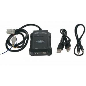 Connects2 - ovládání USB zařízení OEM rádiem Nissan/AUX vstup