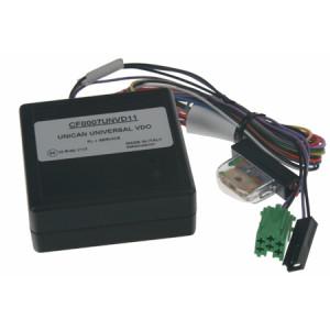 UNI adaptér CAN-Bus/ovládání Blaupunkt + rychl., 15, osv., zpát.