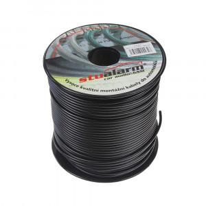 Kabel 1,5 mm, černý, 100 m bal