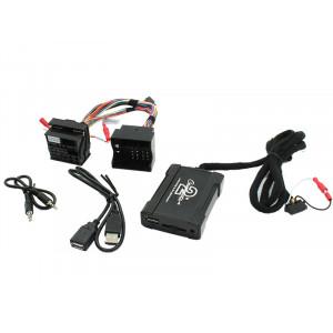 Connects2 - ovládání USB zařízení OEM rádiem BMWnew/AUX vstup