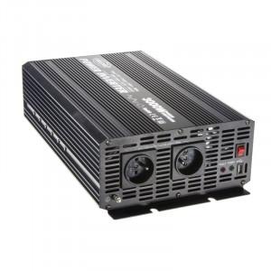Měnič napětí z 12/230V + USB, 3000W