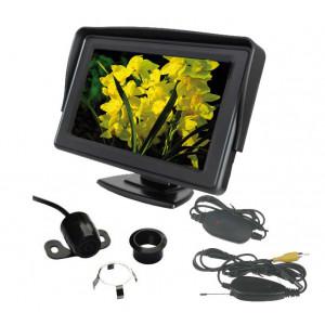 """Bezdrátová parkovací kamera s LCD 4,3"""" displejem"""
