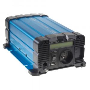Sinusový měnič napětí z 12/230V, 600W / displej