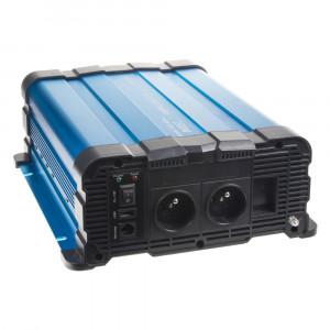 Sinusový měnič napětí z 12/230V, 1500W / dálkové ovládání s displejem