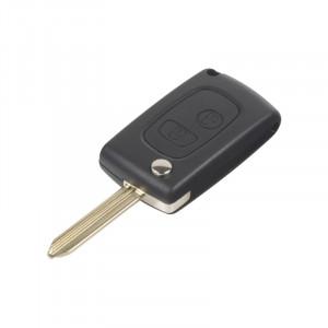Náhr. obal klíče pro Citroën, Peugeot, 2-tlačítkový