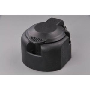 zásuvka 12V 13P plastová s mikrospínačem a těsněním (boční vývod pravý)