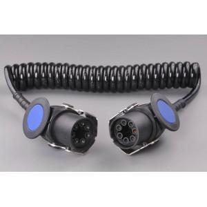 kabel spirálový 24V 7P EBS 4m