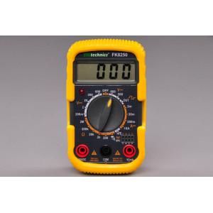 multimetr digitální pro měření A, V, ohm, akustický test vodivosti