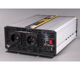měnič napětí z 12V DC na 230V AC 2000W trvale