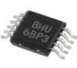 ADS1112IDGST Převodník A/D Kanály:2 16bit 240sps 2,7-5,5VDC MSOP10