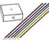 Kabel H05V-U drát Cu 0,5mm2 PVC modrá 300/500V