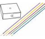 Kabel H05V-K licna Cu 0,75mm2 PVC černá 300/500V