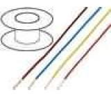 Kabel LgY licna Cu 0,35mm2 PVC bílá 300/500V