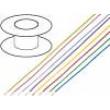 Kabel LiYv licna Cu 0,5mm2 PVC červená 900V 100m
