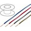 Kabel X05V-K licna Cu 0,75mm2 PVC tmavě modrá-bílá 300/500V