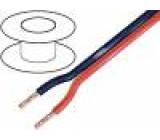Kabel reproduktorový 2x4mm2 licna OFC PVC